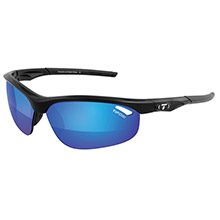 TIFOSI OPTICS Veloce golf interchangeable sunglasses - clarion mirror collection - gloss black