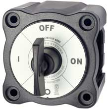 BLUE SEA 6005200 battery switch single circuit on-off