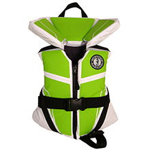 Mustang Survival Lilft Legends 100 Child Vest - 30-50lbs - Green Apple/White