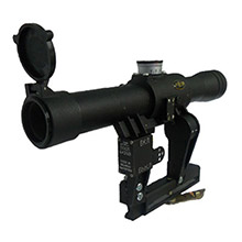 POSP 4x24 V Sniper Rifle Scope with AK Mount