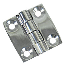WHITECAP Butt hinge - 304 stainless steel - 2 inch x 2 inch