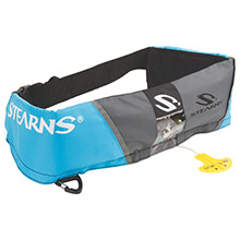 STEARNS 0340 m16 manual inflatable belt - blue/grey