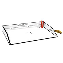 MAGMA Bait/Filet Mate Serving/Cutting Table - 20 inch White/Black