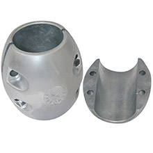 TECNOSEAL X20 shaft anode - zinc - 5-1/2 inch shaft diameter