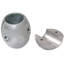 TECNOSEAL X5al shaft anode - aluminum - 1-1/4 inch shaft diameter