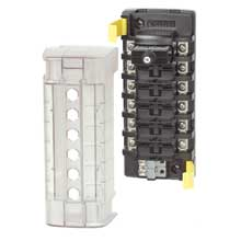 BLUE SEA 5050 st clb circuit breaker block 6 position