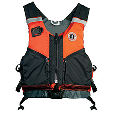MUSTANG SURVIVAL Shore Based Water Rescue Vest - XL/XXL - Orange/Black
