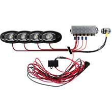 RI RIGID IND Signature series deck light kit %2D 4 cool white lights