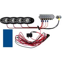 RI RIGID IND Signature series deck light kit %2D 4 blue lights
