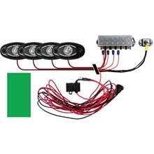 RI RIGID IND Signature series deck light kit %2D 4 green lights
