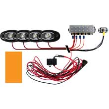 RI RIGID IND Signature series deck light kit %2D 4 amber lights