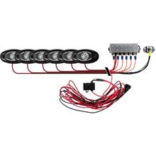 RI RIGID IND Signature series deck light kit %2D 6 cool white lights