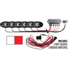 RI RIGID IND Signature series deck kit %2D 2 cool white 4 red lights
