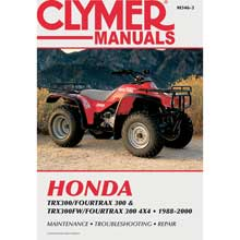 CLYMER Honda trx300/fourtrax 300 trx300fw/fourtrax, 300 4x4 (1988-2000)