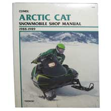 CLYMER Artic cat snowmobile (1988-1989)