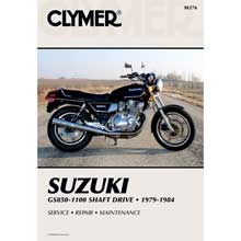 CLYMER Suzuki gs850-1100 shaft drive (1979-1984)