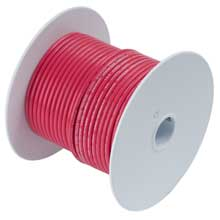ANCOR Red 50ft 2/0 awg battery cable tinned copper