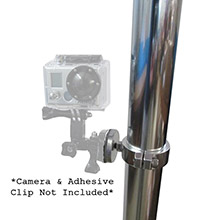 RUPP MARINE Gopro clamp mount f/gopro camera - tube od 1.75 inch