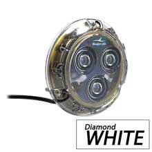 BLUEFIN Piranha p3 white surface mount underwater light