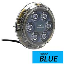 BLUEFIN Piranha p6 blue surface mount underwater light