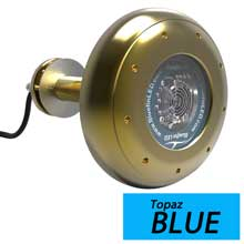BLUEFIN Stingray s20 blue through-hull underwater light