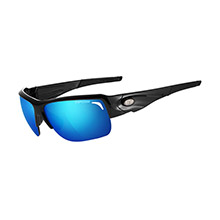 Tifosi Optics Elder interchangeable sunglasses - clarion mirror collection - gloss black
