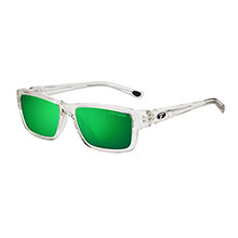 TIFOSI OPTICS Hagen polarized single lens sunglasses - clarion mirror collection - crystal clear