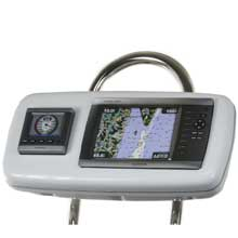 NavPod GP1040-02 systempod pre-cut f/garmin 4008/4208, 1 instrument f/9.5inch  wide guard