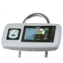 NAVPOD Systempod pre%2Dcut f and simrad nss9 evo2 or b g zeus 9 1 instrument f and 95inch wide guard