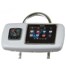 NAVPOD Systempod pre%2Dcut f and raymarine a95 and a97 and a98 1 instrument f and 95inch wide guard