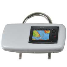 NAVPOD Systempod pre-cut f/simrad nss7 or b,g zeus touch 7, space on the left f/9.5inch wide guard