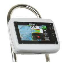 NavPod Sailpod pre-cut f/simrad nss9 evo2 or b,g zeus,#178  9 f/9.5inch  wide guard