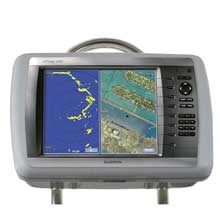 NavPod Sailpod pre-cut f/garmin 4012/4212 f/12inch  wide guard