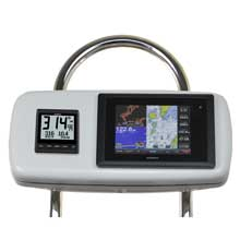 NavPod Systempod pre-cut f/garmin 8008/8208, 1 instrument f/12inch  wide guard