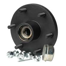 C.E. SMITH Trailer hub kit - tapered spindle - 6x5.5inch stud - 1,750lb capacity
