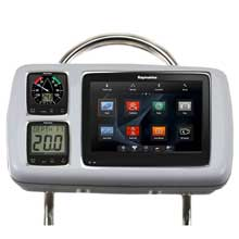NAVPOD GP2080%2D14 systempod pre%2Dcut f and raymarine a95 and a97 and a98 2 instruments f and 12inch wide guard