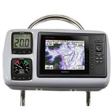 NAVPOD GP2088 systempod pre-cut f/garmin 820/820xs/840xs, 2 instruments f/12inch wide guard