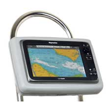 NavPod GP2203 sailpod pre-cut f/raymarine c125/c127/e125/e127 f/12inch  wide guard
