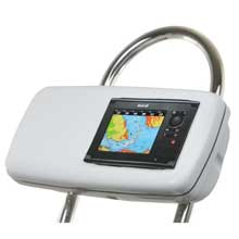 NAVPOD Systempod pre-cut f/simrad nss7 or b,g zeus touch 7 w/space on the left f/12inch wide guard