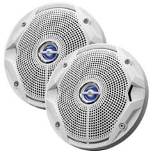 JBL Ms6520 6 1/2inch coaxial marine speakers white
