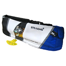 STEARNS 0340 paddlesports manual inflatable belt - blue
