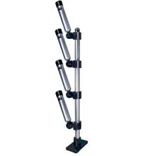 BIG JON Multi-set quad rod holder tree