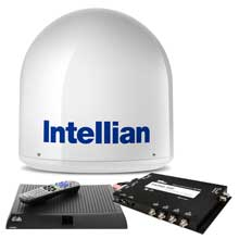 Intellian I2 us system w/dish/bell mim, 15m rg6 cable,  vip211z dish hd receiver
