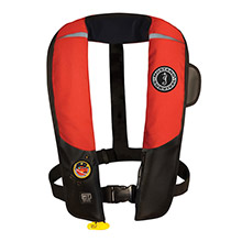 MUSTANG SURVIVAL HIT Inflatable Automatic PFD - Red/Black