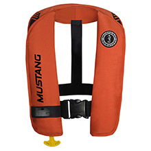 MUSTANG SURVIVAL MIT 100 Inflatable Automatic PFD w/Reflective Tape - Orange