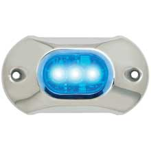 Attwood Lightarmor underwater light 3 led blue