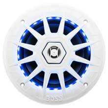 BOSS AUDIO Mrgb65 coaxial marine speaker w/rgb led