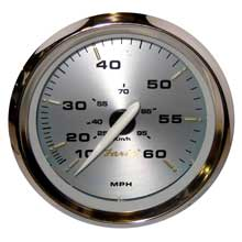 FARIA Kronos 4inch speedometer - 60mph (mechanical)