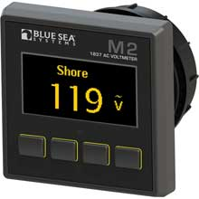 BLUE SEA 1837 m2 ac voltage meter