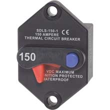 BLUE SEA 7079 klixon circuit breaker panel mount 150 amp